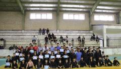 مراسم اهداء مدال باشگاه کونگ فوتوآیاران 2 باحضور اعضای شورای اسلامی شهر برگزار گردید