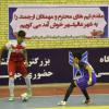 حضور شهردار و اعضای شورای اسلامی عالیشهر در محل برگزاری مسابقات  لیگ برتر نوجوانان کشور در عالیشهر