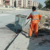 گزارش تصويري از شستشوي مخازن زباله و جداول سطح شهر