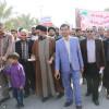 با حضور پرشور مردم و مسئولین راهپیمایی 22بهمن در عالیشهر برگزار شد
