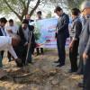 به مناسبت روز درختکاری آیین کاشت نهال در پارک جنگلی برگزار شد