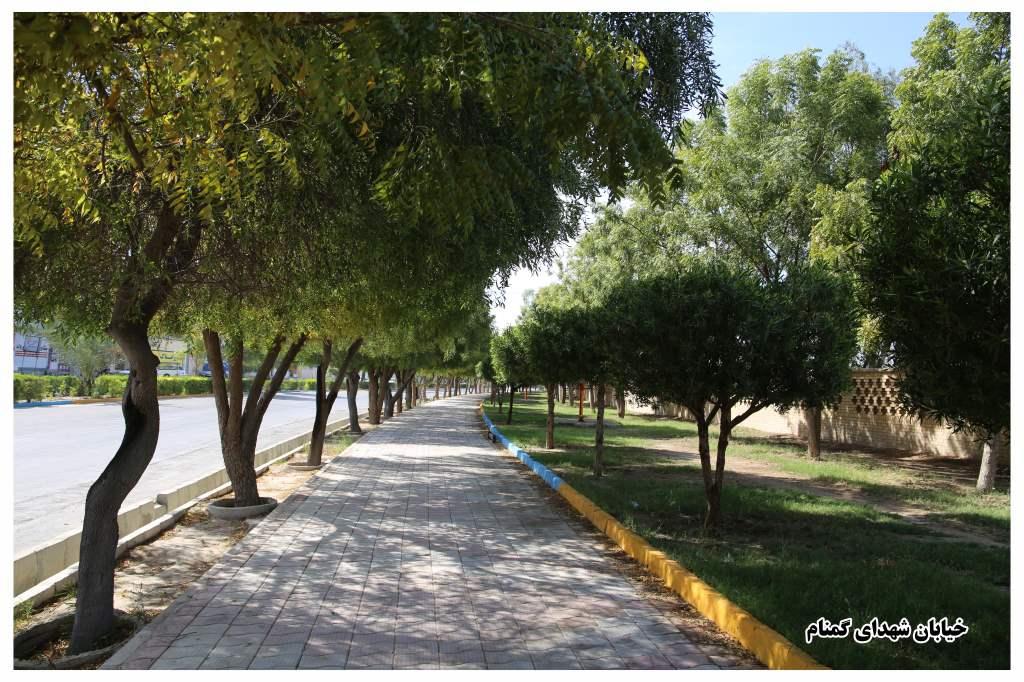 خیابان شهدای گمنام