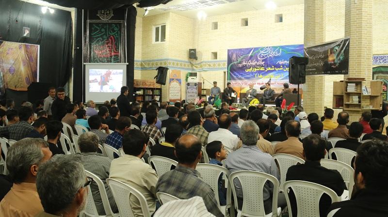 آموزش ساخت سطل زباله شب شعر نی نوایی ها در عالیشهر برگزار شد + عکس